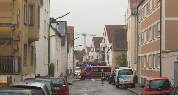 Katzboeckstraße Augsburg – Gasleitung gerissen