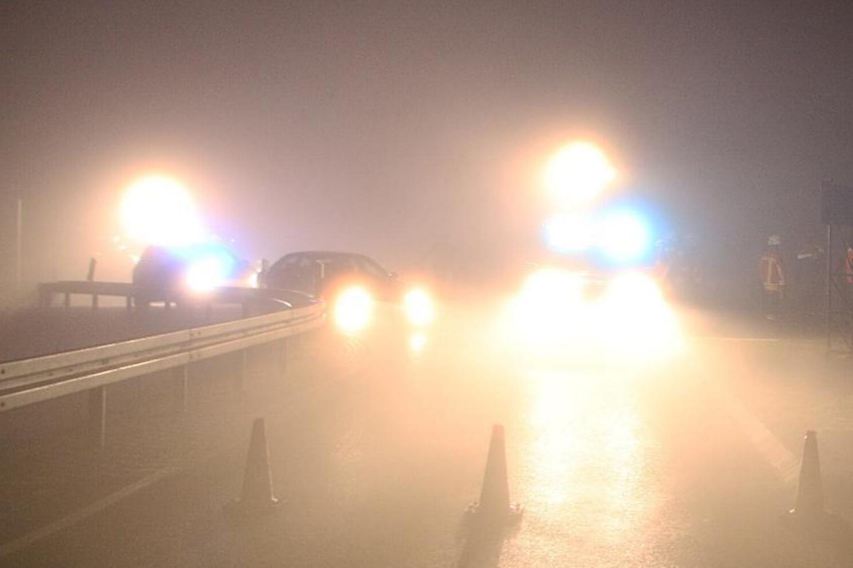 Nebel Unfall