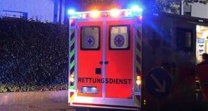 Rettungswagen Nachts