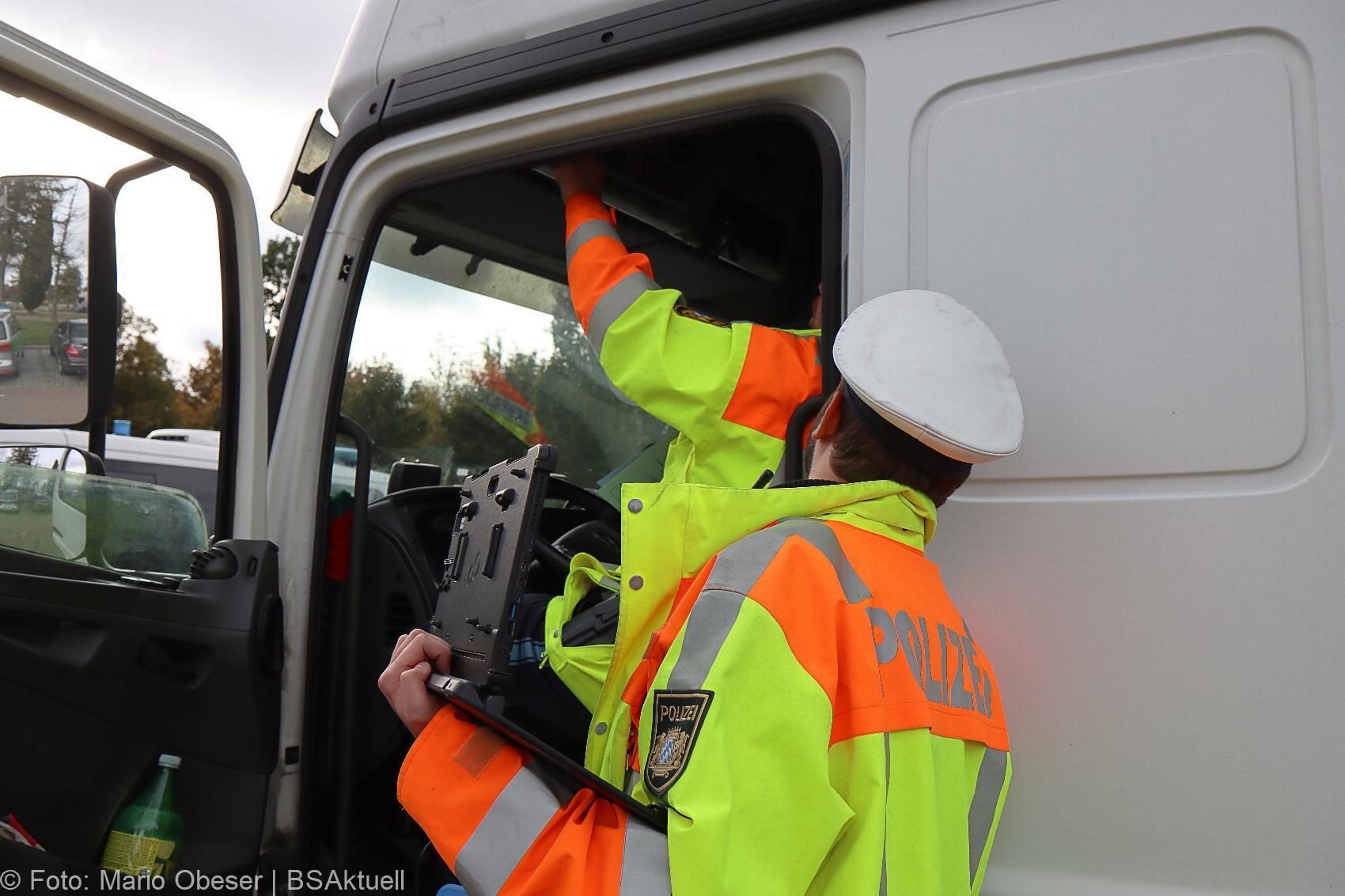 Truck and Bus A8 Leipheim Polizeikontrolle 14102020 20