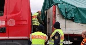 Truck and Bus A8 Leipheim Polizeikontrolle 14102020 7