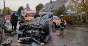 Unfall Echlishausen Pkw ueberschlagen 5