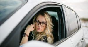 Auto Frau Autofahrerin