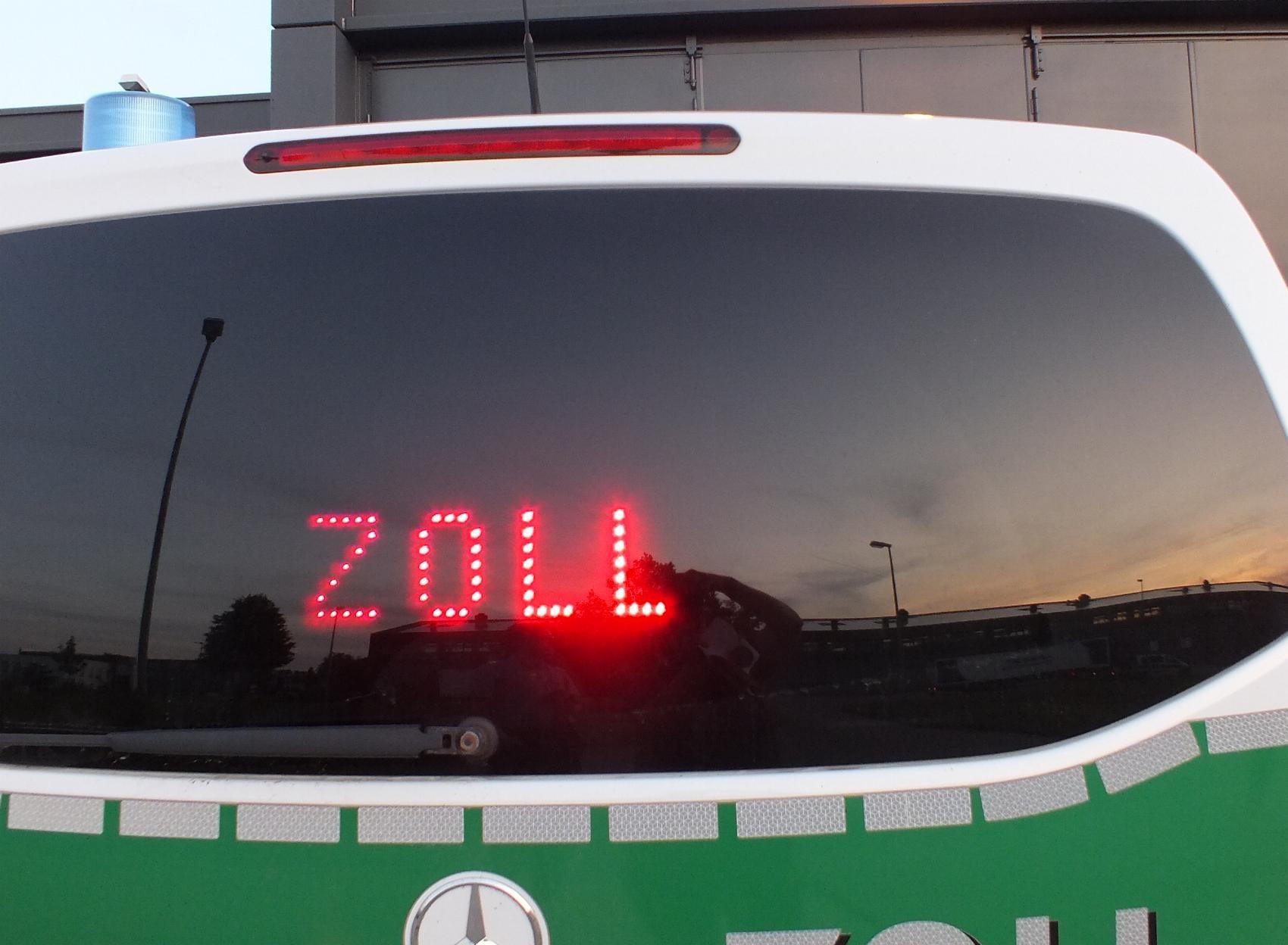 Fahrzeug-Zoll