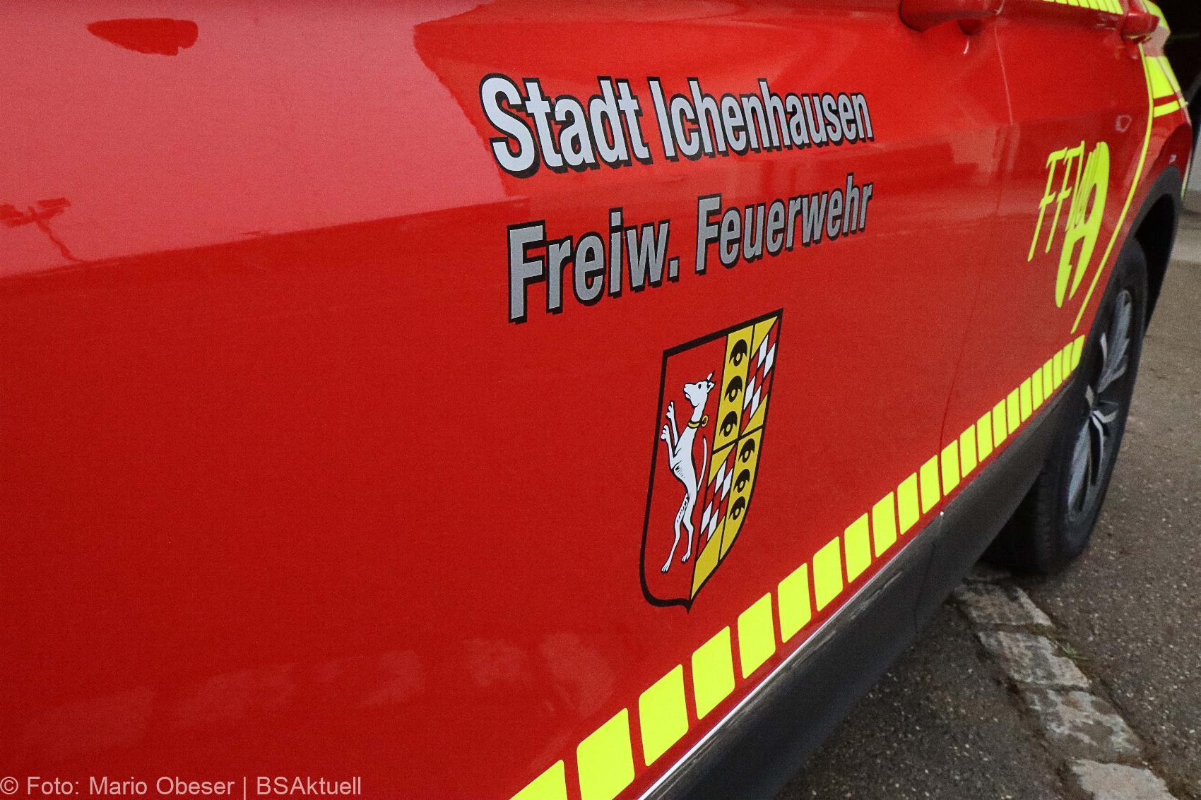 Kommandowagen Feuerwehr Ichenhausen 27112020 16