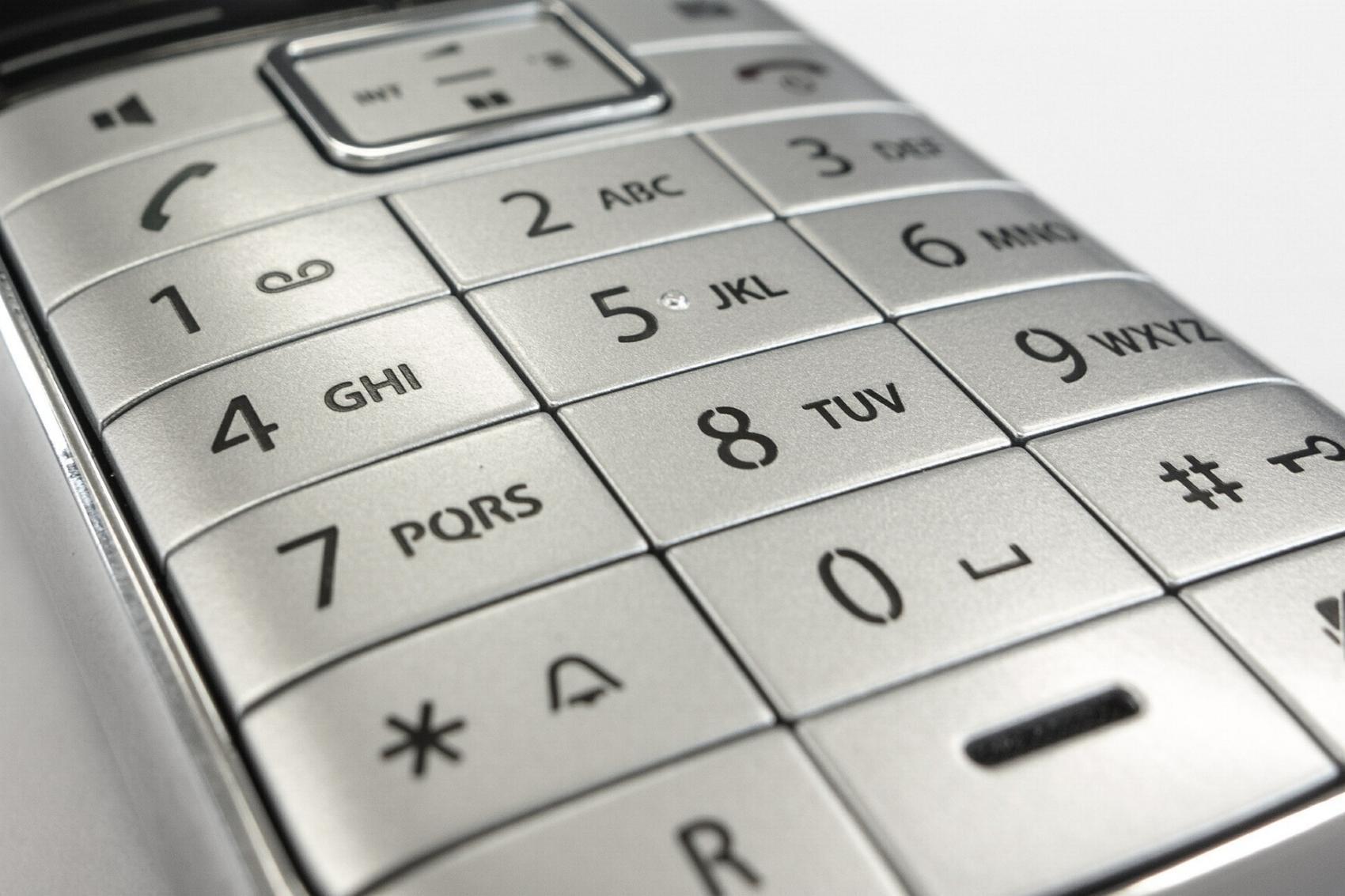 Telefon Tastatur