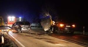 Unfall Bachhagel Auffahrunfall 14112020 6