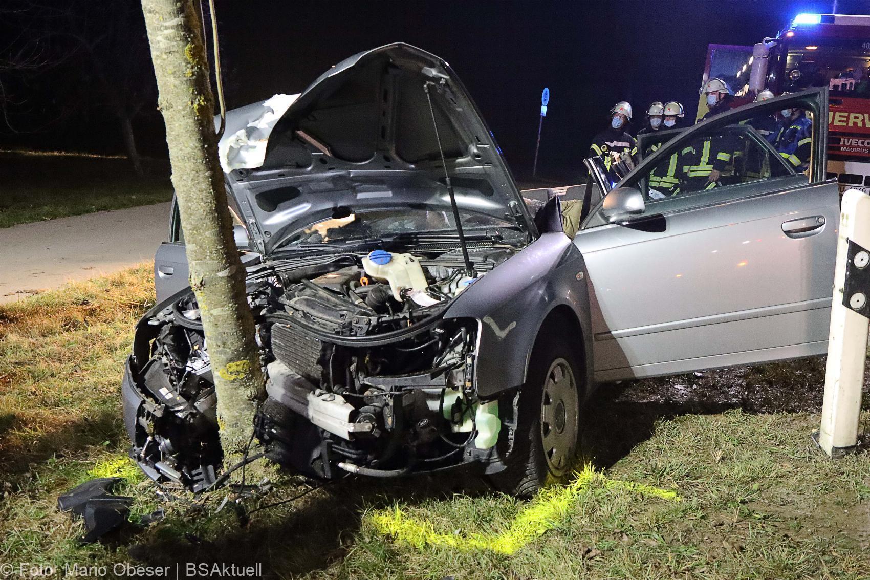 Unfall bei Burlafingen 23112020 9
