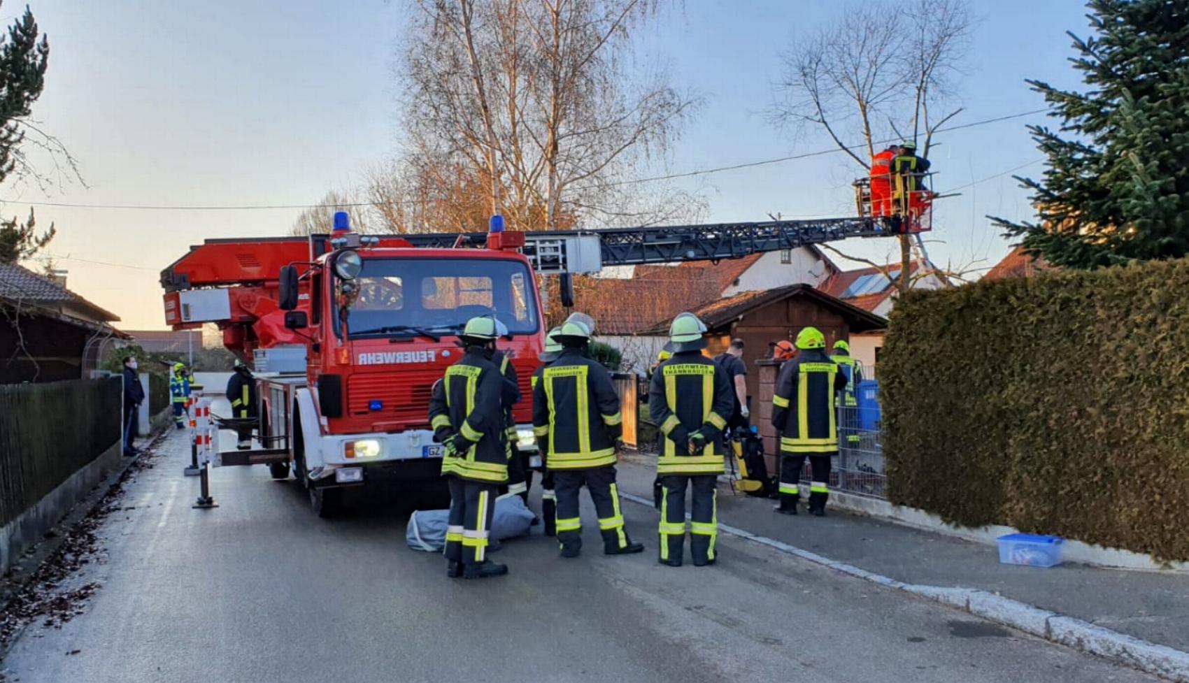 Burtenbach Feuerwehr Thannhauen 18122020