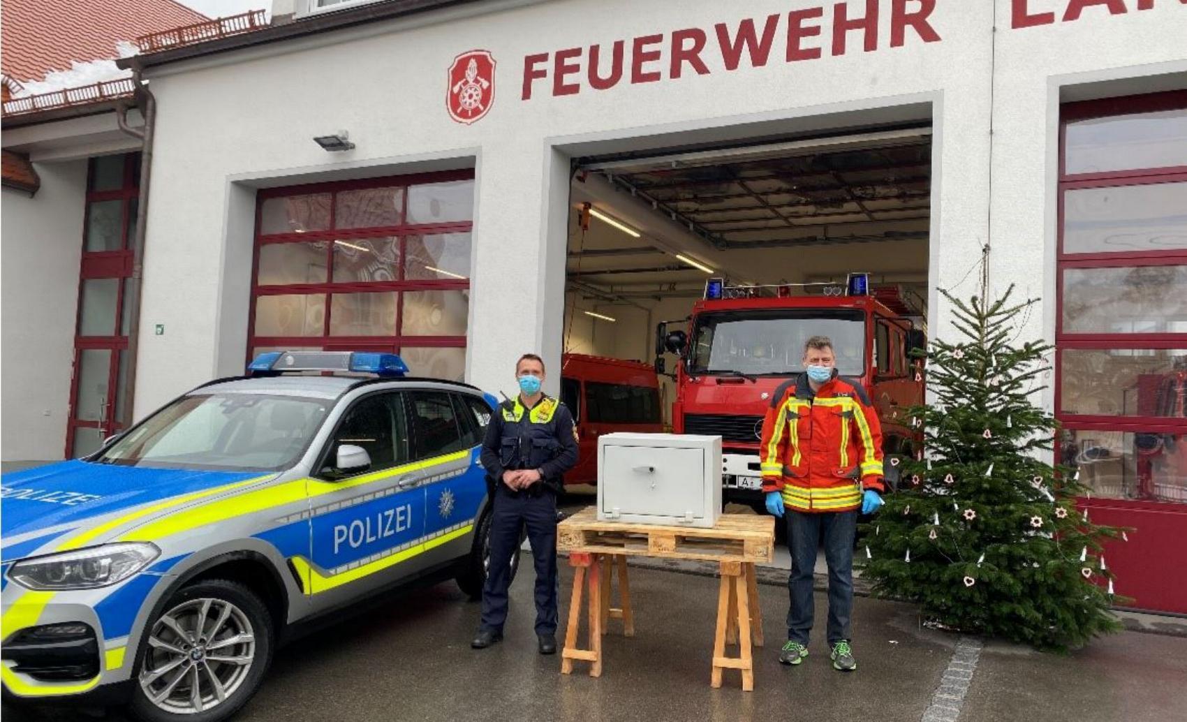 Feuerwehr Langeringen Tresor