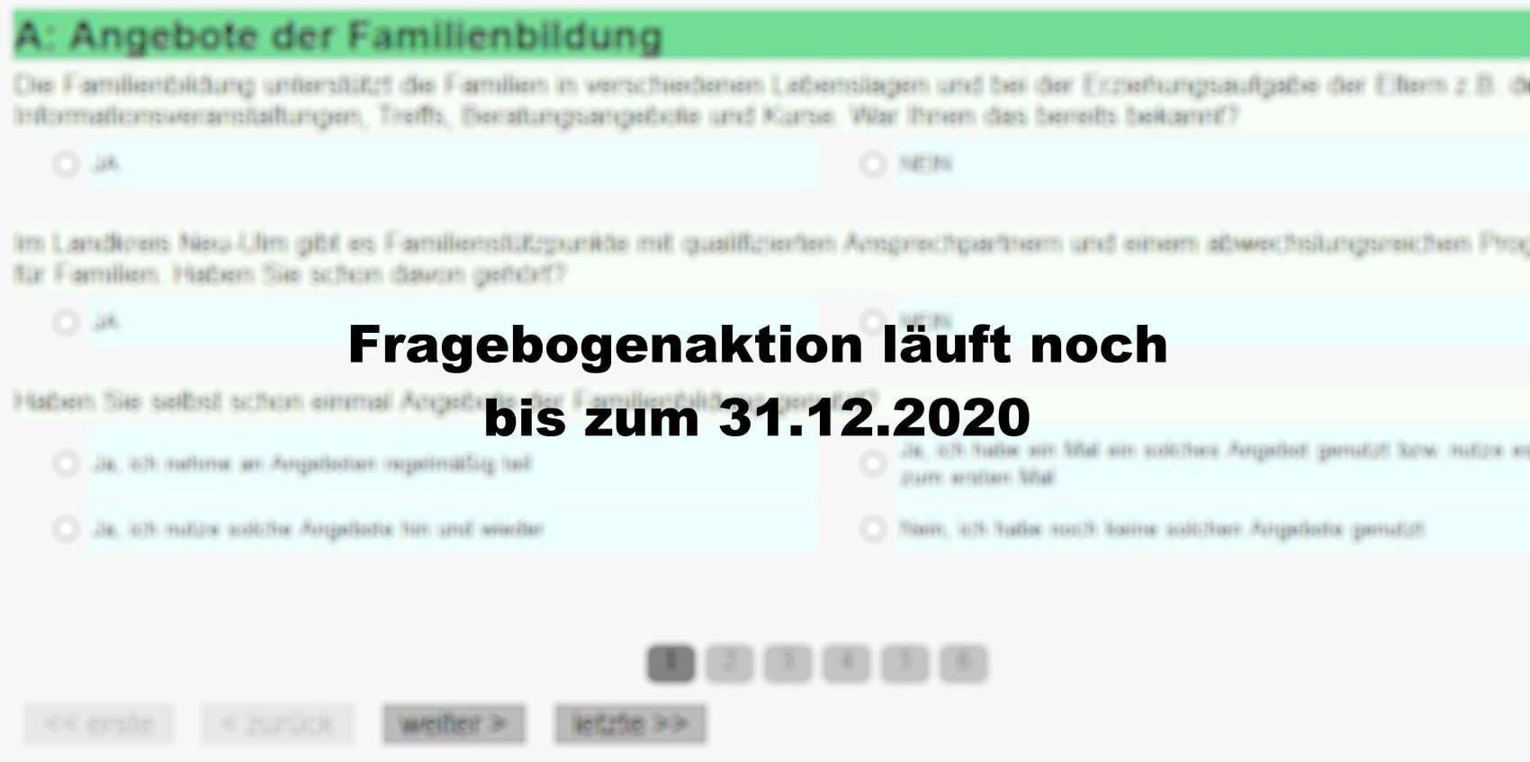 Fragebogen Kreis Neu-Ulm