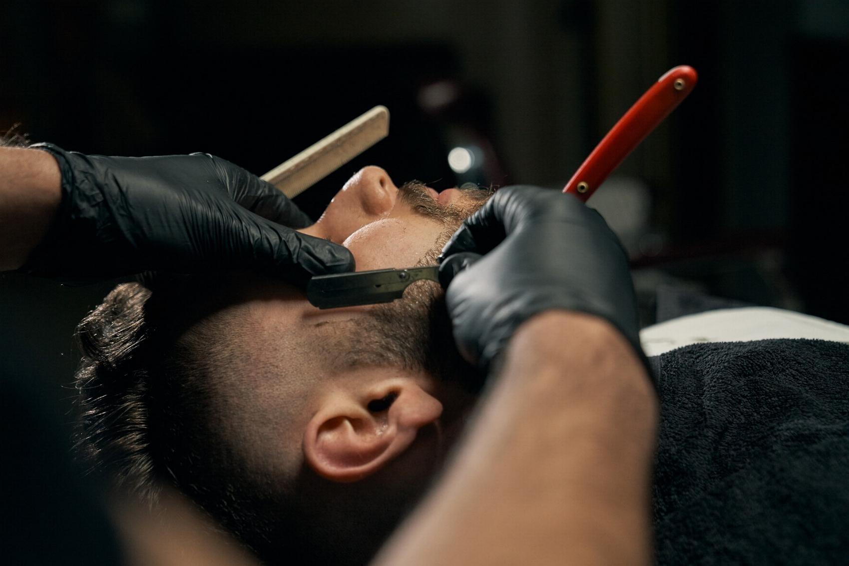 Haare schneiden Friseur