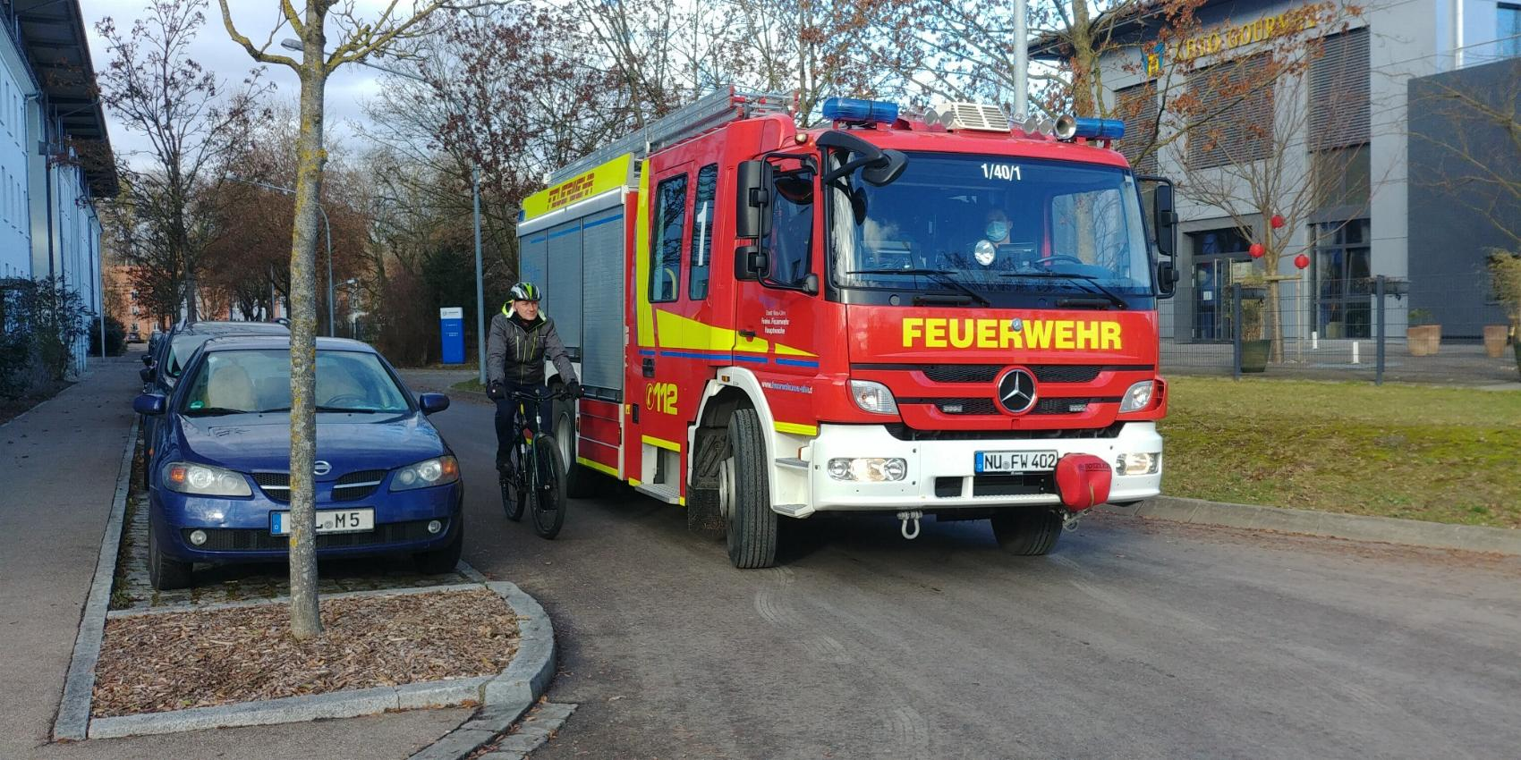 Abbiegeassistent Freiwillige Feuerwehr Neu-Ulm