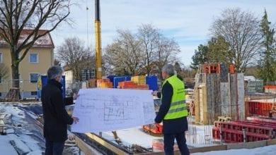 Guenzburg KitaWest Baustellenbesichtigung