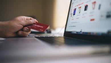 Online-Einkauf Internet
