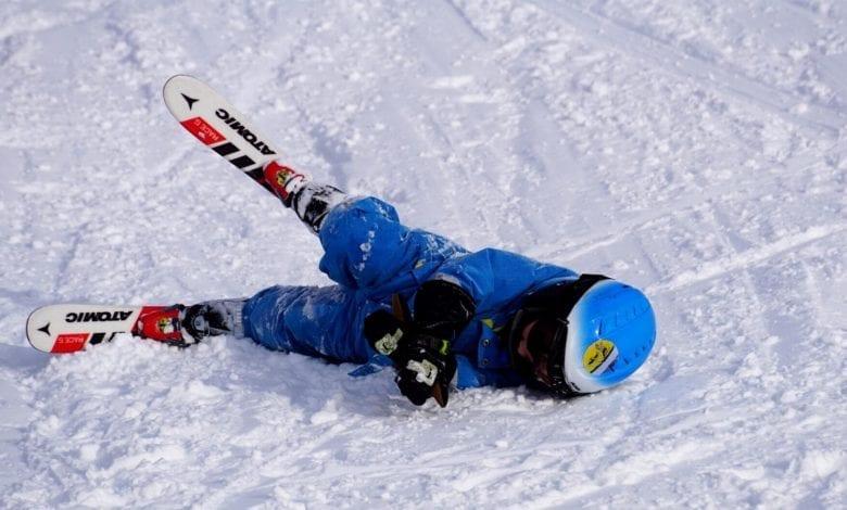 Skifahren Schnee