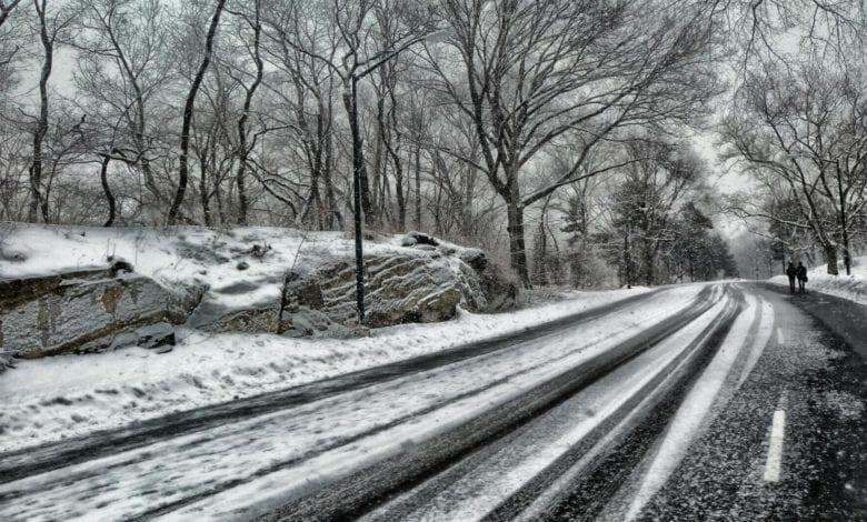 Winter Schnee Strasse