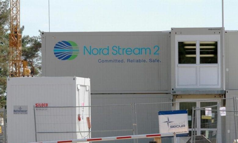 Bau von Nord Stream 2 dts