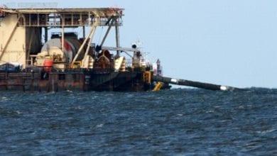 Castoro 10 beim Bau von Nord Stream 2 dts