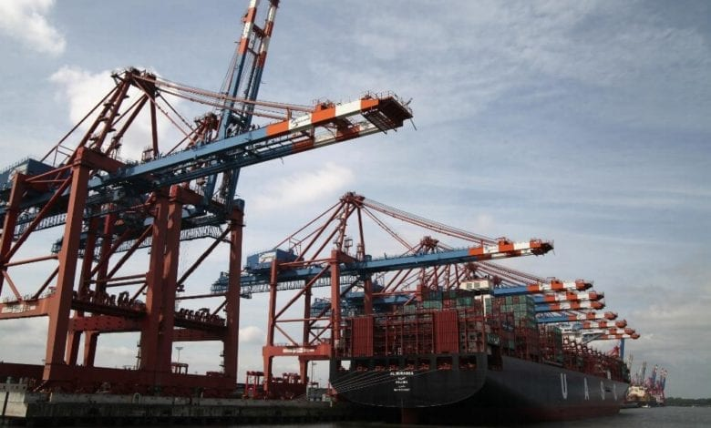 Containerschiff dts