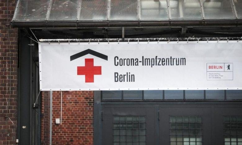 Corona-Impfzentrum Berlin dts