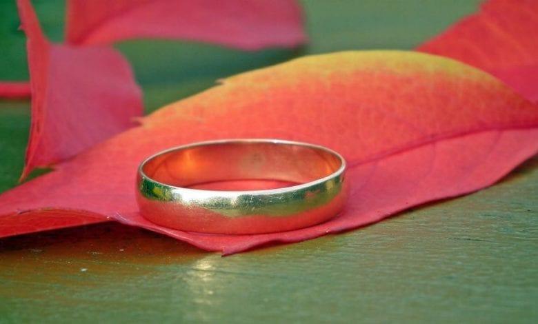 Ehering Goldring Ring