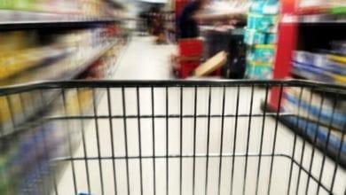 Einkaufswagen Supermarkt dts
