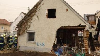 Haus Ichenhausen Mauer eingestuerzt 06022021 2