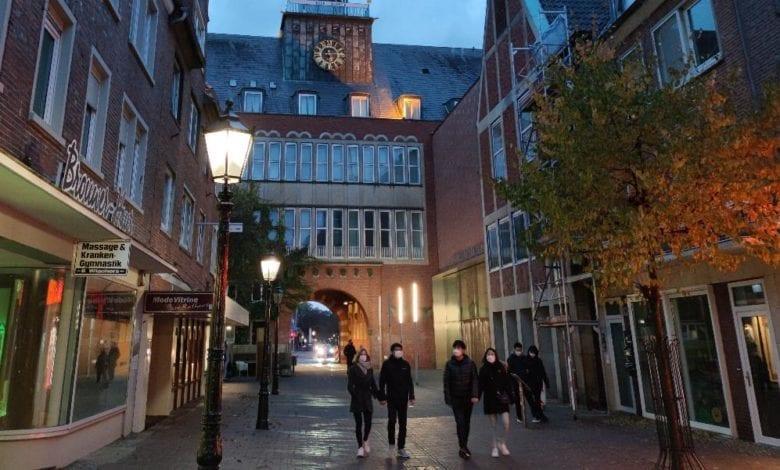 Innenstadt von Emden mit geschlossenen Geschäften dts