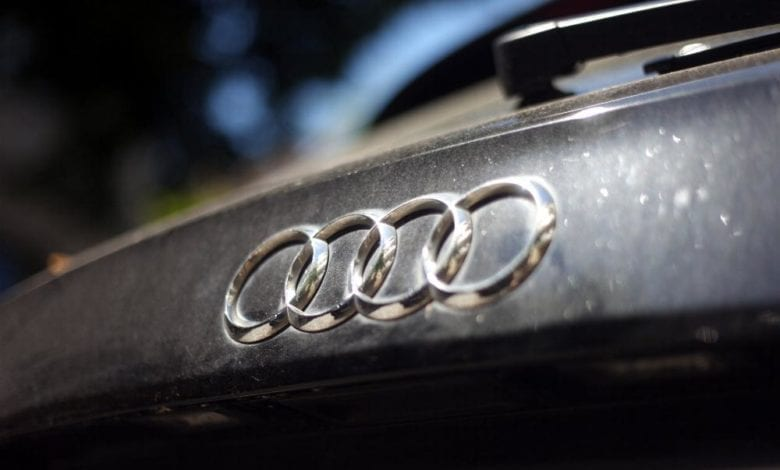 Logo Audi dts