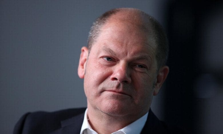Olaf Scholz Finanzminister dts