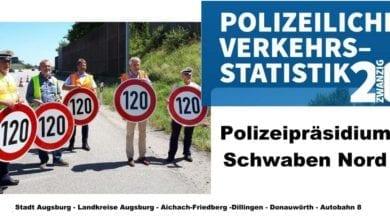 PP Schwaben Nord Verkehrsstatistik 2020