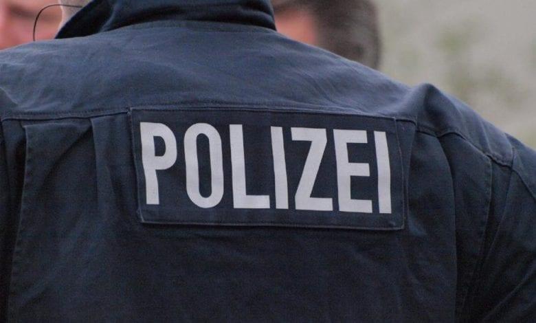 Polizei Schrift dts