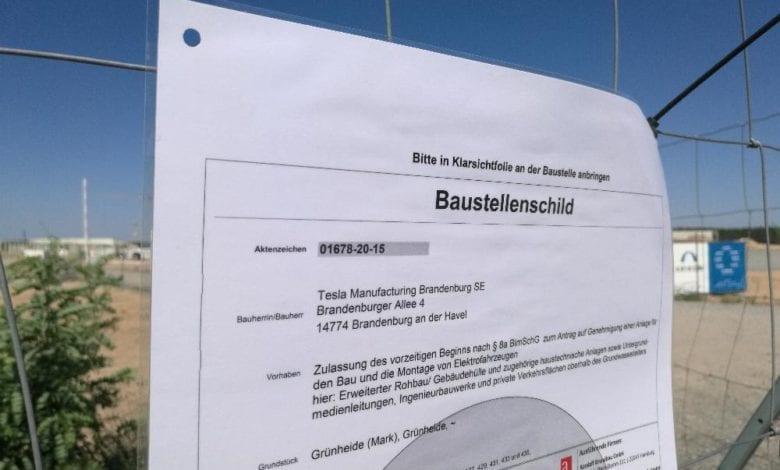 Tesla-Fabrik in Brandenburg dts