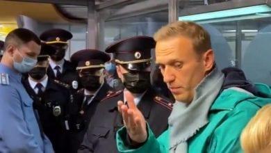 Video von der Festnahme Nawalnys dts