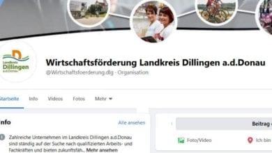 Wirtschaftsfoerderung Social-Media Kreis Dillingen