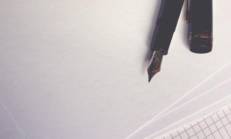 Brief Fueller Kugelschreiber