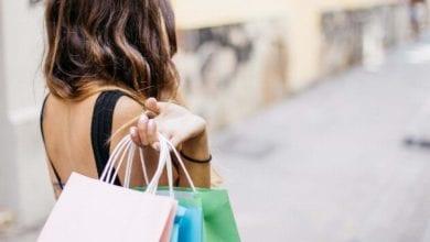 Einkaufen Frau Taschen