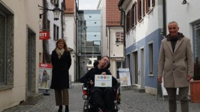 Stadt Guenzburg Auszeichnung barrierefrei 2023