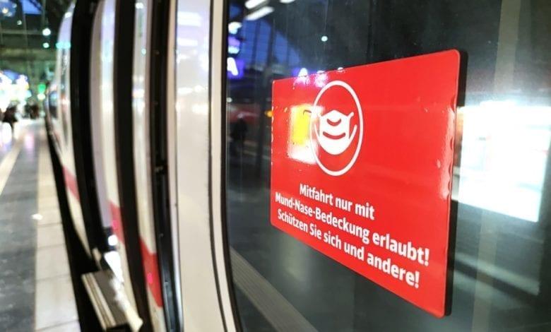 Deutsche Bahn greift durch: Verbot für Maskenverweigerer