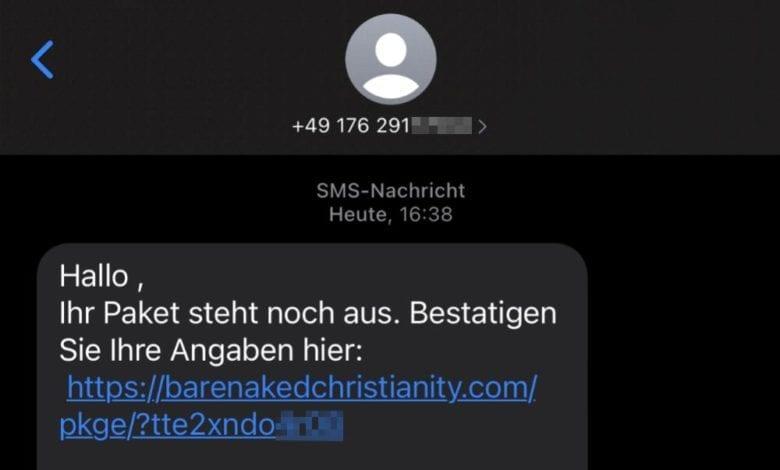 Betrug SMS