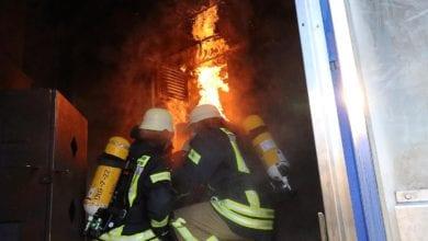 Branduebungsanlage Netze BW Feuerwehr Gundelfingen 80