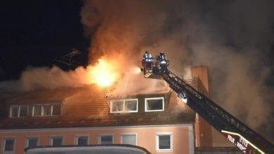 Dachstuhlbrand Kaufbeuren 09042021 7