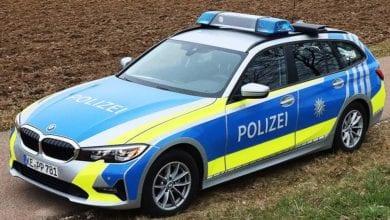 Polizeifahrzeug Kempten