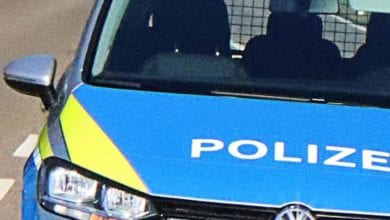 Polizeifahrzeug VW