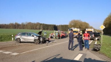 Unfall bei Nornheim 13042021 1
